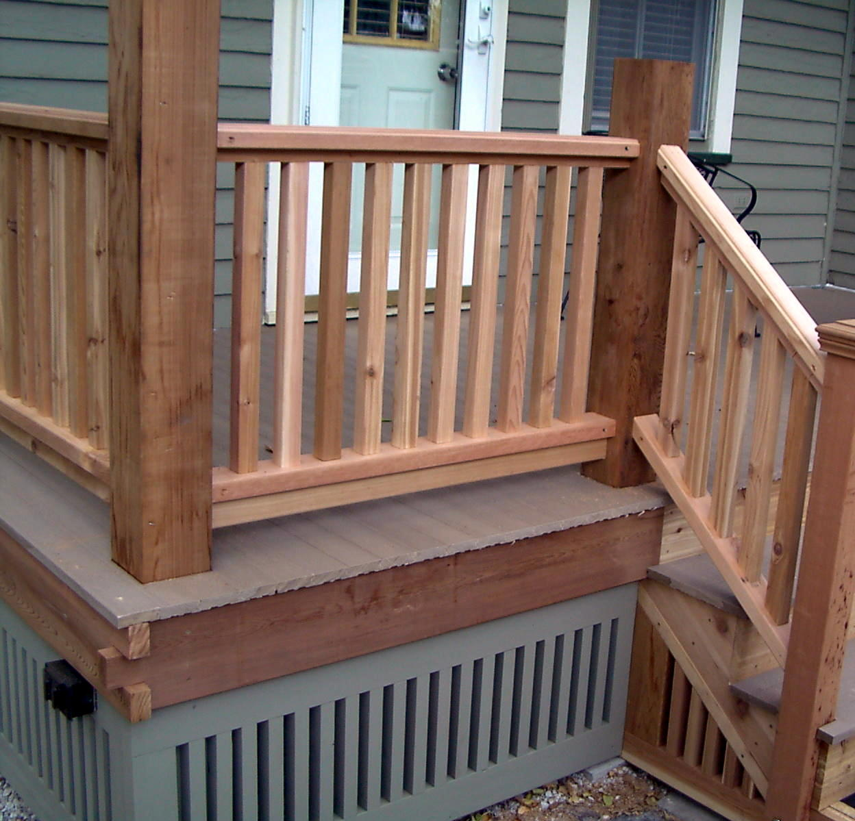 Merveilleux Deck Railing Ideas