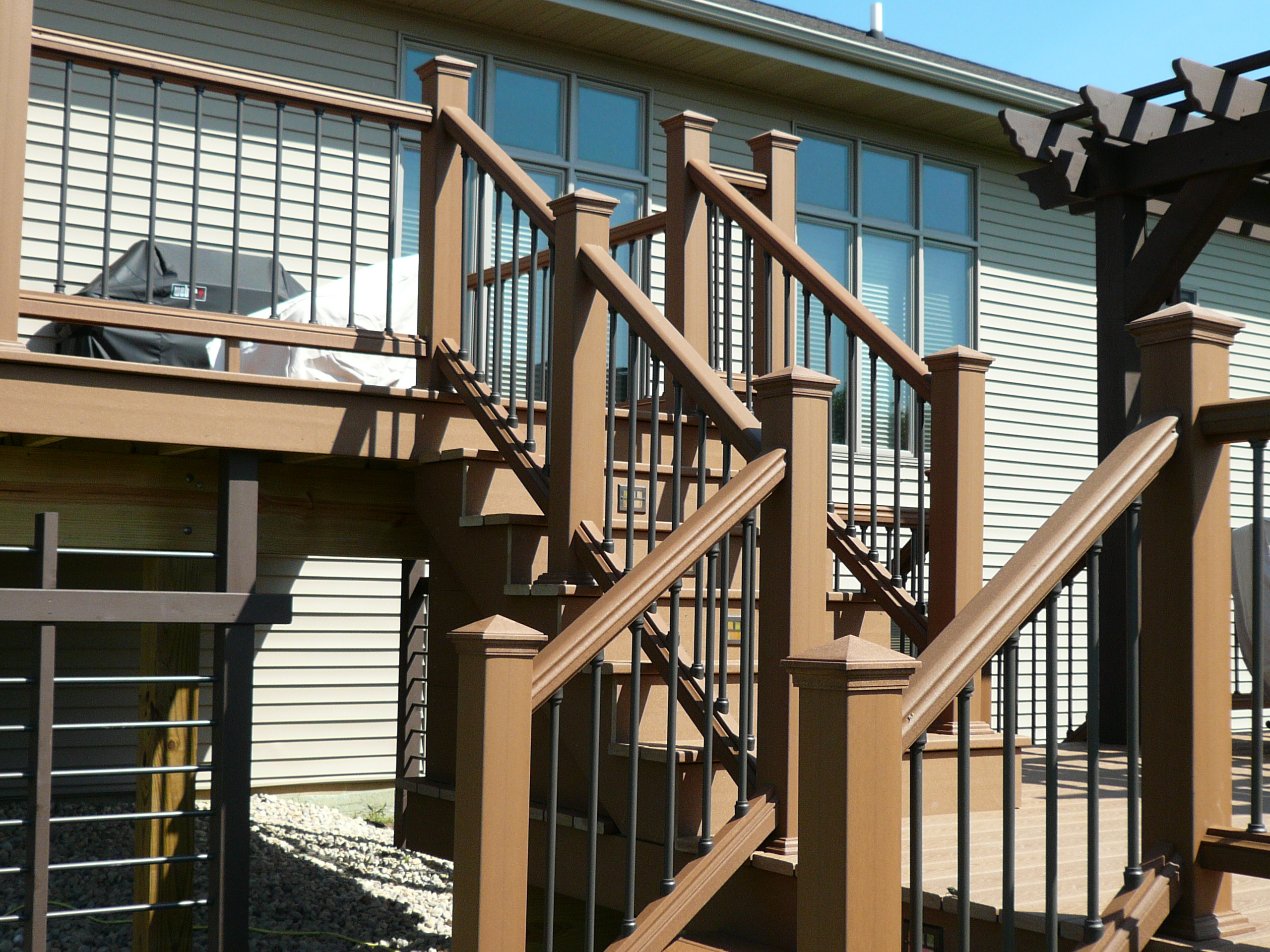 height outdoor railing porch exterior code ideas fabulous including